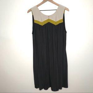 Jay Godfrey Gray Sleeveless Dress Sz 12